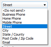 Drop-down Lists